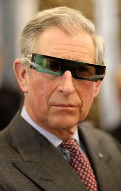 Prince Charles ( have to admit..I giggled a bit.)/••••His humor is much to dry for me.