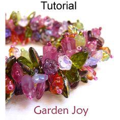 Garden Joy Beading Pattern Tutorial