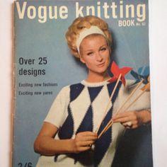 Vintage 1960 Vogue Knitting Pattern Booklet Edition by EverandAva