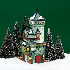 """""""Post Office"""" -Department 56 North Pole Series - #56.56235 - $50.00 Issued - December 1992 Retired - December 1999"""