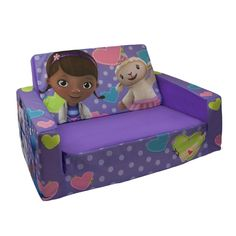 Kids Love Doc McStuffins Furniture Does she love Doc McStuffins? Then these furniture featuring Disney's favorite doctor would be perfect for her to have at home. Kids would love to have these Doc McStuffins furniture as part of their bedroom, pl. Cool Toddler Beds, Toddler Rooms, Kid Rooms, Design Furniture, Kids Furniture, Bedroom Furniture, Doc Mcstuffins Bed, Twin Baby Girls, Kids Sofa