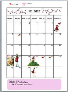 Calendarios mensuales año 2015. descarga gratuita