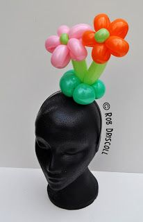 My Daily Balloon: 10th July - Flower Hairband  Rob Driscoll
