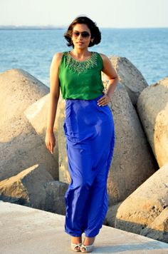 Maxi dress from Studio 149 by Swathi Street Look, Street Style, African Fashion, Parachute Pants, Latest Fashion, Eye Candy, Fashion Accessories, Spring Summer, Gowns