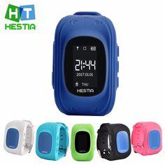 HESTIA HOT Q50 Smart watch Children Kid Wristwatch GSM GPRS GPS Locator Tracker Anti-Lost Smartwatch Child Guard for iOS Android