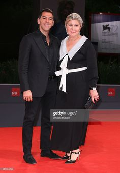 Emir Uyar and Sevim Uyar attend a premiere for 'Frenzy' during the 72nd Venice Film Festival at on September 8, 2015 in Venice, Italy.