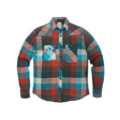 Plaid Flannel Work Shirt Made in USA | Topo Designs Work Shirt