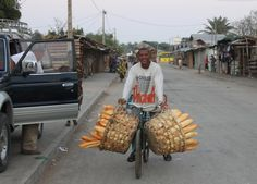 Deliverying Bread in Toliara, Madagascar
