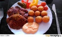 Domácí krokety Side Dishes, Muffin, Cooking, Breakfast, Food, Cucina, Breakfast Cafe, Muffins, Kochen