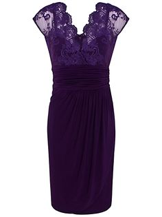 Purple purple purple #lace #dress