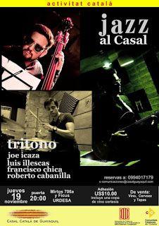 NOV 19 Jazz al Casal presenta: Tritono