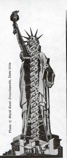Histoire de la Statue de la Liberté Old Pictures, Old Photos, Statues, Nagoya, Sun Worship, New York City Travel, Centenario, Eiffel, Jolie Photo