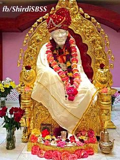 """""""I cast aside hatred and passion, I conquered delusion and greed;  No touch of pride caressed me, so envy never did breed: Beyond all faiths, past reach of wealth, past freedom, past desire; In light and wind I am not found, nor yet in earth and sky -Consciousness and joy incarnate, Bliss of the Blissful am I.""""     #sairam #shirdi #saibaba #saideva  ❤️ॐ❤️OM SAI RAM❤️ॐ❤️  Please share; FB: www.fb.com/ShirdiSBSS Twitter: https://twitter.com/shirdisbss"""