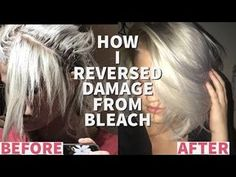 HOW TO GROW OUT BREAKAGE FROM BLEACH | HAIR ROUTINE FOR BLONDES