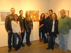 Art exhibit at San Diego Art Institute features paintings by California artist Danielle Nelisse. Follow her facebook fan page at www.facebook.com/daniellenelisseartist