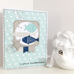 Le blog de Scrappy Géri #fish Nautical card