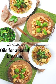 #HEALTHYFOOD #SALAD  The Healthiest Oils for a Salad Dressing   Oleje bogate w kwasy tłuszczowe wielonienasycone (czyli między innymi w słynne omega 3 i omega 6) źle znoszą gotowanie. Te związki są nietrwałe. Już w temperaturach rzędu 60° C  ulegają degradacji, dając produkty toksyczne. Czyli przekształcają się w niemniej słynne (choć raczej słynne złą sławą) formy trans.
