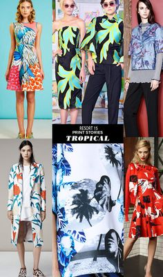 Runway | Resort 15 Print Stories