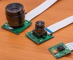 3 types of RasberryPi cameras Electronics Gadgets, Electronics Projects, Technology Gadgets, Tech Gadgets, Projetos Raspberry Pi, Sauce Française, Raspberry Projects, Wireless Spy Camera, Rasberry Pi