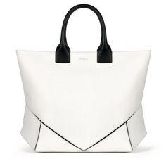 Handbag con impunture nere e manico Givenchy