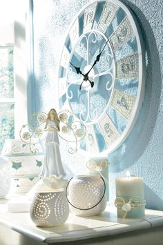 Grasslands Road - Coastal Garden collection #Ceramic #Resin #Candle #Angel #Clock #Shells #Lantern #SummerHome #BeachHome #BeachHouse #Coastal