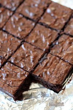 80030ab57c6a Não dá para resistir a esses Brownies de Cacau.