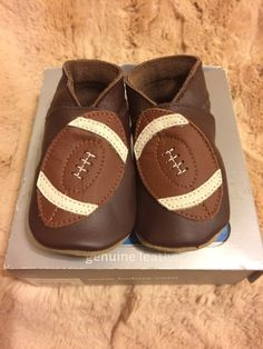 d87a2db7c8fa Bobux Baby Pre-walker Shoes - Football Leather With Suede Bottom- Size  Small