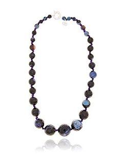 Alexandra Plata Collar Agate