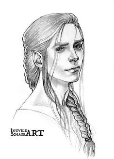 Silmarillion - Young Feanor by IngvildSchageArt on DeviantArt