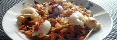 Régime Dukan : Konjac Pattaya et encornets farcis au fromage frais #dukan http://www.dukanaute.com/recette_konjac_pattaya_et_encornets_farci...
