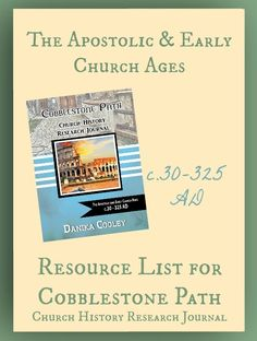 Great Christian History Books for The Apostolic and Early Church Ages for Kids