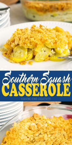 This buttery and delicious southern Squash Casserole is perfect for holidays, bbqs, and any get together you have planned. The crushed ritz cracker topping is perfect with the sweet and tender yellow squash. Easy Squash Casserole, Southern Squash Casserole, Yellow Squash Casserole, Casserole Recipes, Cracker Barrel Squash Casserole Recipe, Paula Deen Squash Casserole, Quiche Recipes, Gourmet Recipes, New Recipes