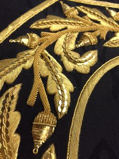 Hawthorne & Heaney and Goldwork by the London Embroidery School, London Embroidery