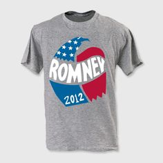 LOVE how the Romney campaign has the vintage collection with the same logos as George Romney's '68 campaign.