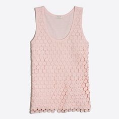 J.Crew+Factory+-+Tiered+dot+tank+top