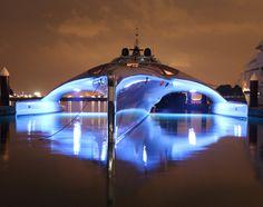 Adastra Super Yacht | By John Shuttleworth Yacht Designs #yacht #luxury