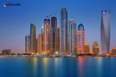 Dubai is a modern city of wonders. Almost any talk, any article about Dubai starts with words of praise. No wonder as Dubai is home for the most expensive ho. The Places Youll Go, Places To Visit, Dubai Real Estate, Visit Dubai, Beautiful Places To Travel, Night City, Asia Travel, Landscape Photography, Exposure Photography