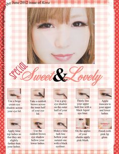 sweet and lovely make up