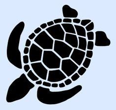 TURTLE-STENCIL-STENCILS-TURTLES-ANIMAL-CRAFT-PATTERN-TEMPLATE-CRAFT-NEW-4-x-5