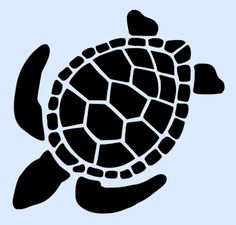 TURTLE-STENCIL-STENCILS-TURTLES-ANIMAL-CRAFT-PATTERN-TEMPLATE-CRAFT-NEW-4-x-5