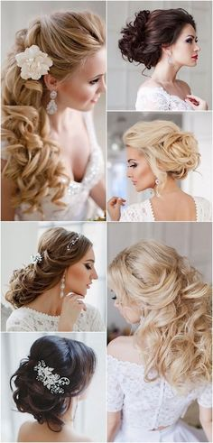 Long Wedding Hairstyles with Charming Elegance / http://www.himisspuff.com/bridal-wedding-hairstyles-for-long-hair/4/