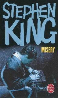 """J'ai lu : Misery, Stephen King"""" <3"""