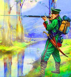 Russian sharpshooter, Crimean War