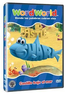 Diseño publicitario de DVD's - Stop Diseño Gráfico - Diseño de Castillo bajo el mar - Word World.