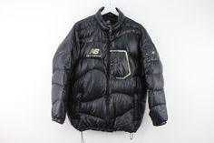 Mens New Balance Black Puffa jacket size 100 stock No.S743   eBay