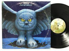 Rush Fly By Night Mercury SRM 1-1023 Original MASTERDISK LP Vinyl #Records