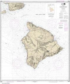 Buy map: Island Of Hawai'i Nautical Chart (19320) by NOAA – YellowMaps Map Store
