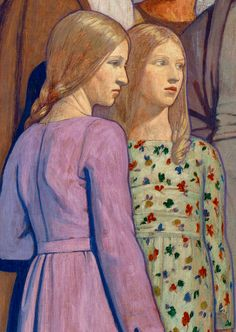 "Frederick Cayley Robinson, ""The Doctor"", detail"