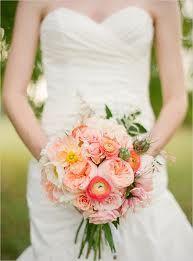 peach wedding bouquets - Google-haku