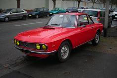 Pour ce samedi, un très belle Lancia Fulvia coupé !
